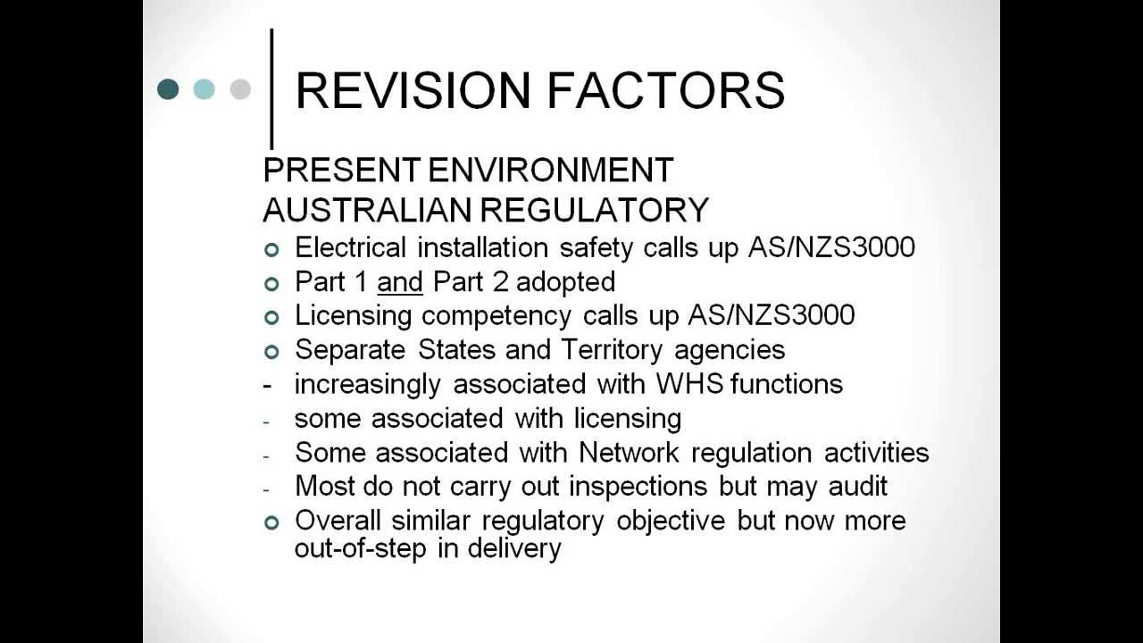 201304-30 08.02 Amendments to AS3000 - Wiring Rules - YouTube