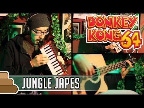 G Kirkhope & D Wise - Jungle Japes & DK Island Swing [Donkey Kong]