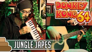 G Kirkhope & D Wise - Jungle Japes & DK Island Swing [Donkey Kong]