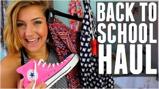 HUGE BACK TO SCHOOL HAUL! Katie Lynn