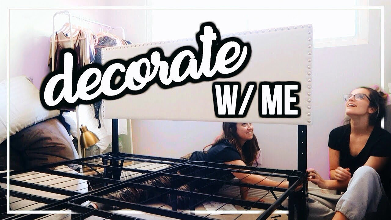MOVE WITH ME: Assembling & Decorating My Room! | Ep. 2