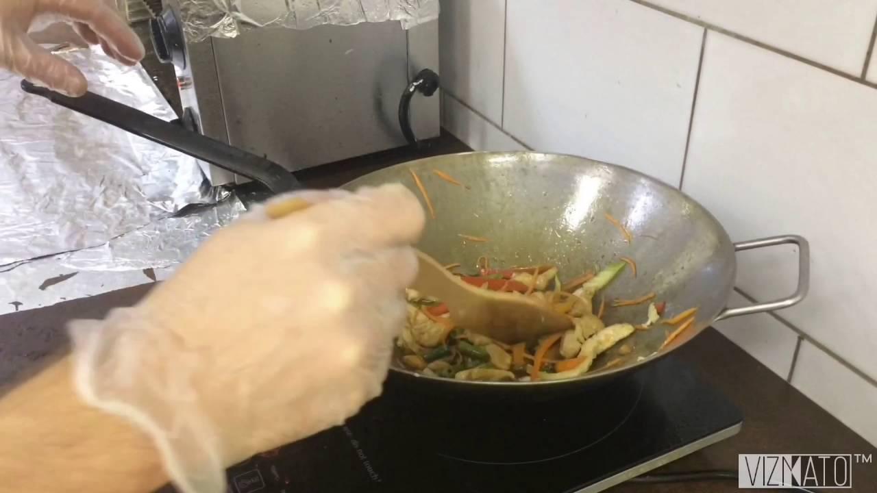 Лапша удон в соусе терияки. Как приготовить лапшу удон. Доставка .
