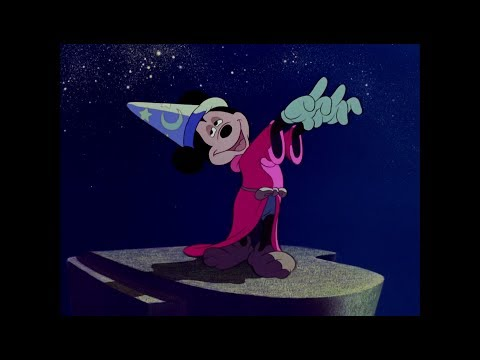 Mickey Mouse Fantasia to DJ Fresh - Gold Dust (Flux Pavilion Remix)