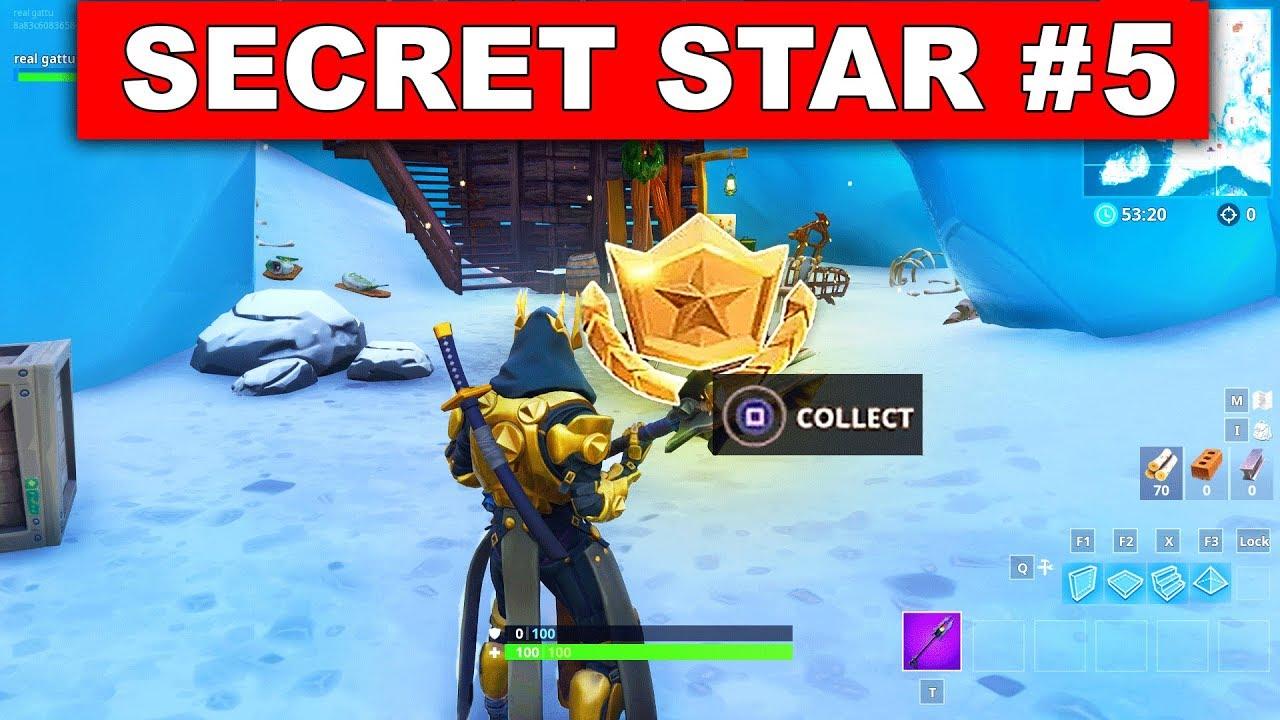 secret battle star week 5 season 7 location fortnite battle royale snowfall challenges - fortnite loading screen 5 location season 7