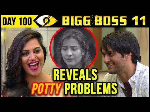 Vikas REVEALS Shilpa Shinde's POTTY PROBLEMS Bigg Boss 11 Day 100 | 9th January 2018 Episode Update
