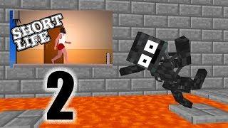 Monster School : SHORT LIFE 2 CHALLENGE - Minecraft Animation
