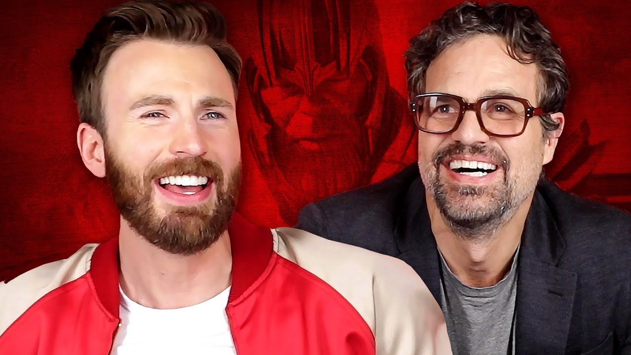 Chris Evans And Mark Ruffalo Try To Survive Thanos Snap