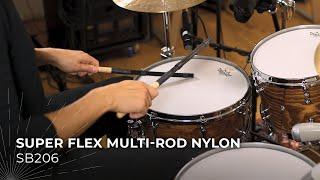 MEINL Stick & Brush Super Flex Multi-Rod Nylon SB206
