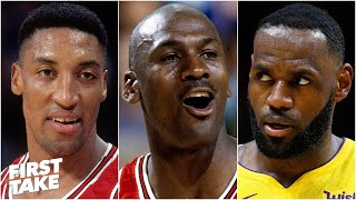Would LeBron have been a better partner for Michael Jordan than Scottie Pippen? | First Take