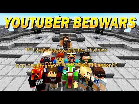 12 YOUTUBERS IN A CUSTOM BEDWARS TOURNAMENT!