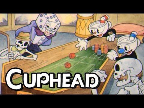 CUPHEAD Co-op Gameplay!