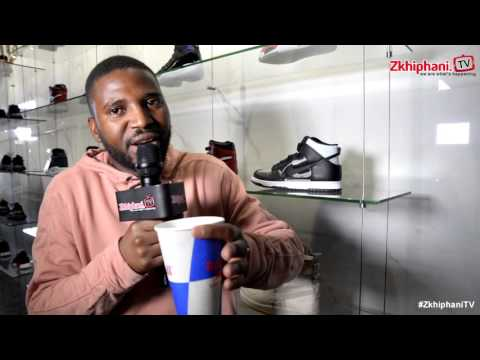 Okmalumkoolkat on his sneaker collection