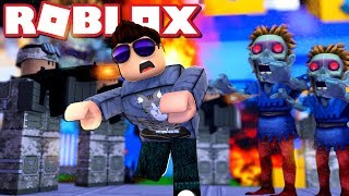 Now the Zombies COME! -Roblox Tower Defence Simulator Danish with ComKean