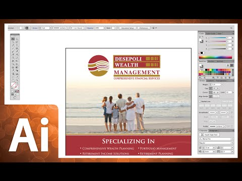 Professional Graphic Design Tutorial In Adobe Illustrator CC 2014