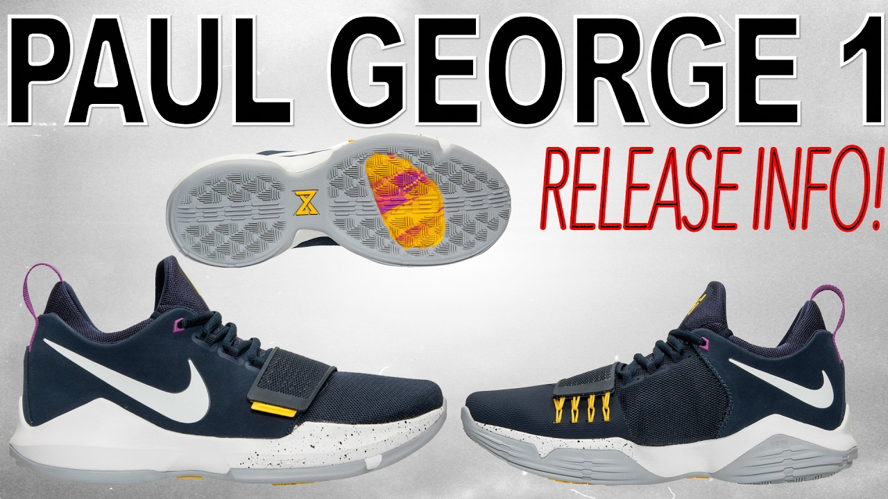 best sneakers 19244 44590 Nike Paul George 1 Release Info!