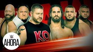 Puñetazos en Raw: WWE Ahora, Jan 13, 2020