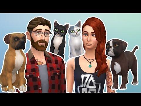 Ich baue meine Familie bei Sims 4 nach // KupferfuchsZockt