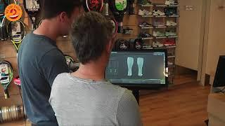 Sunny Camp 3D scan voor wandelschoenen