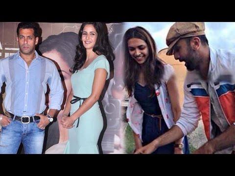 Salman Khan, Katrina Kaif, Ranbir Kapoor And Other Bollywood Ex Flames Who Reunited For Work Mp3
