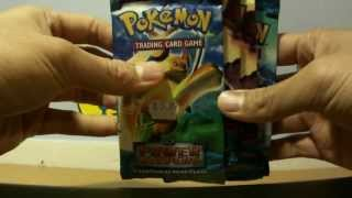 Absol EX from Absol Pack! Opening 5 Pokemon EX Power Keepers Booster Packs