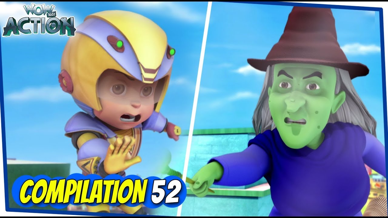 Download Vir The Robot Boy   Animated Series For Kids   Compilation 52   WowKidz Action