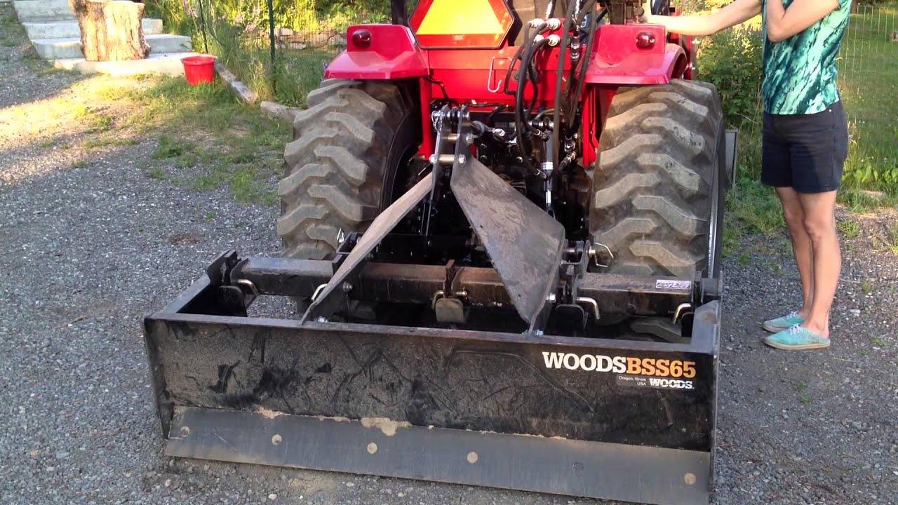 Kubota hydraulic hook up
