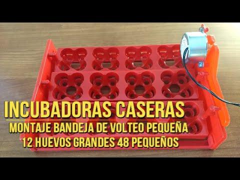 Tutorial c mo montar bandeja de volteo autom tico 12 for Bandejas para huevos