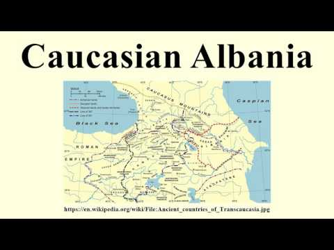 Caucasian Albania