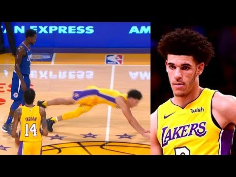 Download Youtube: Lonzo Ball DESTROYED By Patrick Beverley In NBA Debut | Lonzo Ball vs Patrick Beverley