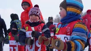 """Праздник """"На лыжи!"""" в Иркутске."""