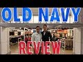 Old Navy Store Review Fall 2018- Push-ups With Jeremy Fragrance
