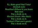 blackout crew  Put a Donk on it  verson lyrics