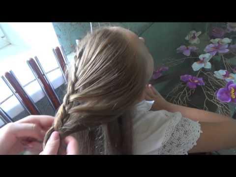 повседневные прически плетение фото