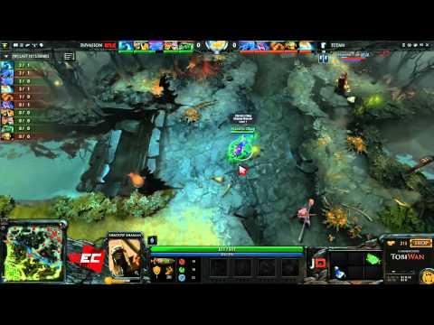 Titan vs Invasion eSports Game 1 - World e-Sports Championships   @TobiWanDOTA