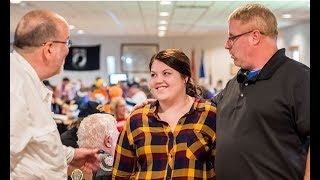American Legion Legacy Scholarship recipient thanks Legion Riders