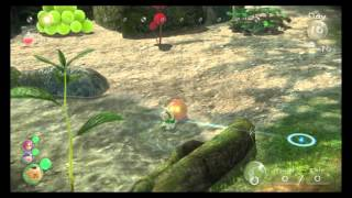 Pikmin 3 - Cupid's Grenade without Blue Pikmin.