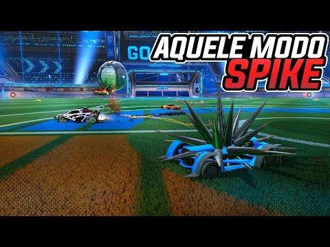 PEGOU, CORRE PARA O GOL... AQUELE MODO ESPINHO SHOW! - Rocket League