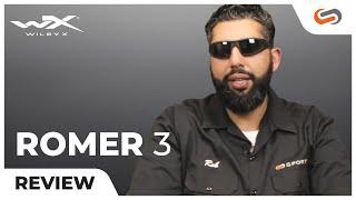 869f555a0cb Wiley X ROMER 3 Ballistic Sunglasses