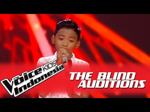 "Arya ""Aku Cuma Punya Hati"" I The Blind Auditions I The Voice Kids Indonesia GlobalTV 2016"