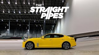 First Look At A North American Pre-Production 2018 Kia Stinger GT