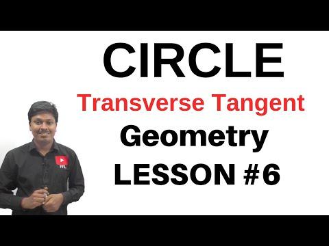 Circle_Coordinate Geometry    Transverse Tangent    LESSON-6