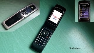 Nokia 6555 retro review (old ringtones, themes, games and more)
