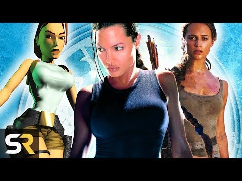 Download Youtube: Tomb Raider: The Evolution of Lara Croft In Games And Movies