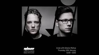 Ulterior Motive - Guidance Music Guest Mix @ Rinse FM - 19.01.2018