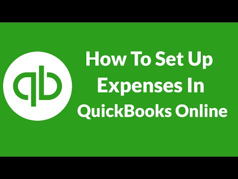 Lesson 7 How To Set Up Expenses In QuickBooks Online