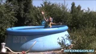 видео Надувной бассейн Intex 56417 Easy Set
