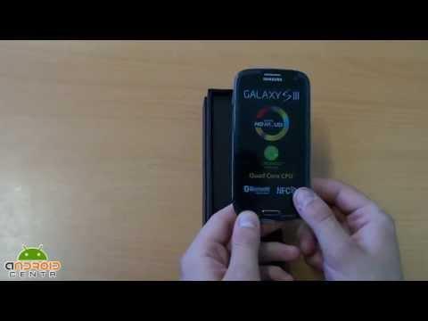 Samsung Galaxy S3 Заводская комплектация