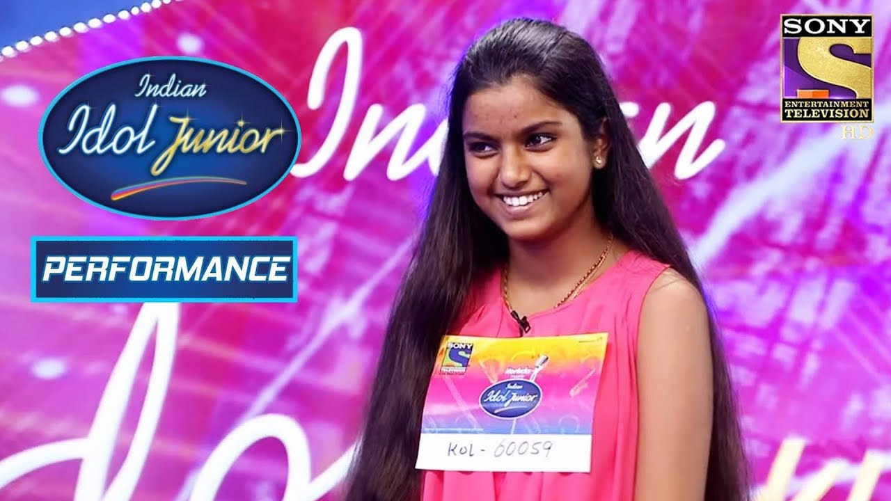 Nahid Gives A Dauntless Performance On 'Mere Bina' | Indian Idol Junior 2
