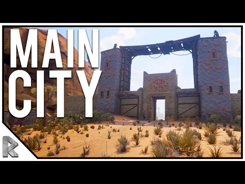 The Main SNAKE GOD City! - Conan Exiles Gameplay #18