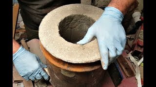 Creating the Ultimate Air Crete Refractory Mix Forge